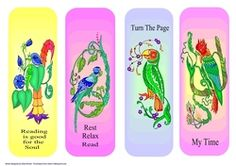 Reading is Good For the Soul by Eliza Brown 4 abstract bird designs. These make great gifts or make and sell at craft fairs or church fete. Make And Sell, How To Make, Printable Crafts, Bird Design, Craft Fairs, No Time For Me, Knitting Patterns, Great Gifts, Card Making