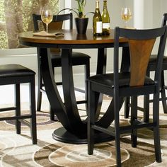 Nice Boyer Contemporary Counter Height Table With Butterfly Top By Coaster