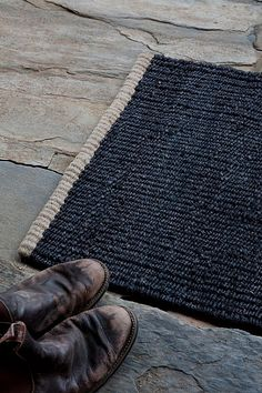 Nest entrance mat by Armadillo