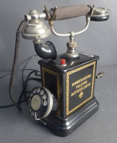 Antique KTAS Crank Rotary Telephone is available on HiBid. View this auction and search for other auctions now on the leading online auction platform. Vintage Phones, Vintage Telephone, American Pickers, Retro Phone, Beautiful Nature Wallpaper, Rotary, Landline Phone, Metal Art, Give It To Me
