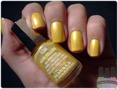 Mavala Acid Yellow | #EssentialBeautySwatches | BeautyBay.com