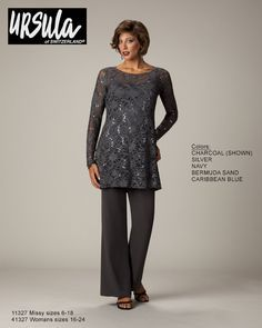 special occasion pant suits for women | ... ursula pant suit collection ursula womans womans petite collection