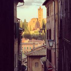 Pelas ruas de Siena