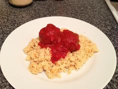 lamb meatballs and couscous #delicious