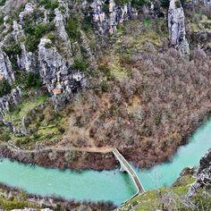 Vikos river,Epirus,Greece