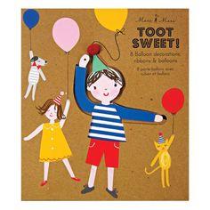 "Meri Meri - Ballonhalter ""Toot Sweet"""