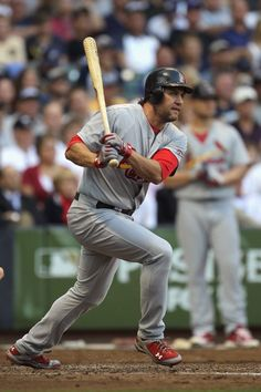 Happy retirement to my favorite baseball player of all time, Lance Berkman! Even though he only played for the Cardinals one year he's my fave :) Gonna miss seeing him play.