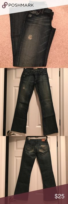 BKE Denim Good Condition- Size 0&30inch Length BKE Jeans Boot Cut