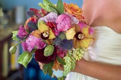 How To: Create a Luscious Bridal Bouquet