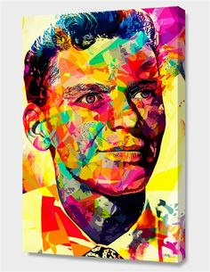 """Sinatra"", Numbered Edition Canvas Print by Alessandro Pautasso - From $89.00 - Curioos"