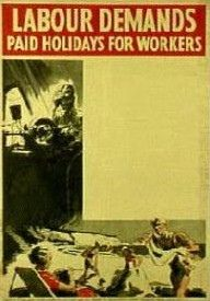 Labour Party Poster from between 1930 and 1938