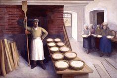 Baker and proud to Be - 'The Baker - Glatt, Germany' by Paul Kälberer, 1937