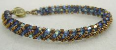PATTERN Annie's Bracelet Right Angle Weave RAW by BaublesbyBalonis, $2.50