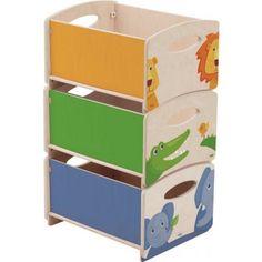 Stapelkisten Zoo,7634,Meubilair kinderkamer,opbergkist-speelgoed-opruimen