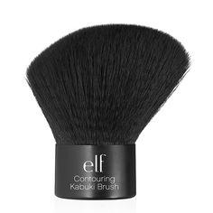 Contouring Kabuki Brush | e.l.f. Cosmetics    -My Other fav Brush Use everyday no Probs