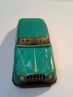 Lovely Vintage Tin Plate Friction Toy car made in england Toys Uk, Car Makes, Tin Toys, Classic Toys, Wales, Plate, England, How To Make, Vintage