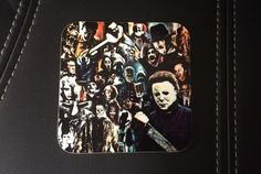*PLEASE IGNORE QUANTITY OPTION - USE HOW MANY COASTERS TO DETERMINE HOW MANY YOU GET The ultimate item for horror fanatics! Buy one or have a set. This comprehensive drinks coaster, featuring some of cinemas most iconic killers and characters, will make a fine addition to any horror fans coffee table, bedside cabinet or office desk. Full list of characters/films: Freddy Krueger, Jason Voorhees, Michael Myers, Leatherface, American Werewolf in London, Hannibal Lector, Pennywise the Clo...