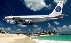 Pan Am Strand Aruba Boeing 707 1978 Boeing 707, Boeing Aircraft, Passenger Aircraft, Cargo Aircraft, Pan Am, Illinois, All Airlines, National Airlines, Old Planes