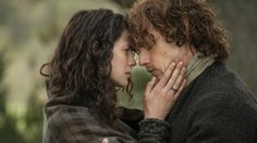 Variety - 'Outlander' Stars Break Down Claire and Jamie's First Fight, That Spanking Scene