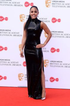 Alex Scott Photos - Alex Scott attends the Virgin Media British Academy Television Awards 2019 at The Royal Festival Hall on May 2019 in London, England. Celebrity Film, Celebrity Style, Female Football Player, Football Players, Alex Scott, Letitia Wright, Virgin Media, Festival Hall, Holly Willoughby