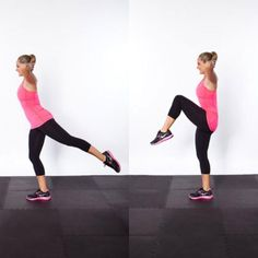 Rear Raise and Hip Circle - Circuit Workout Routine: Get a Flat Stomach, Tight Butt, and Thin Thighs - Shape Magazine