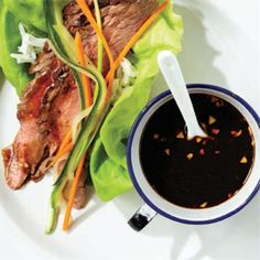 Leftover steak and lettuce roll-ups - Today's Parent  But I am going to use leftover pork!