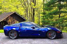 LeMans blue Z06
