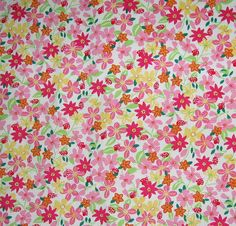 Lilly Pulitzer Cotton Pique fabric Lady Like 1 yard by lillyfabric