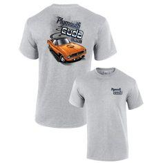 Plymouth 'Cuda 1970 Muscle Car Adult T-Shirt Muscle Tees, Polo Shirt, T Shirt, Plymouth, Trunks, Polo Ralph Lauren, Car, Swimwear, Mens Tops