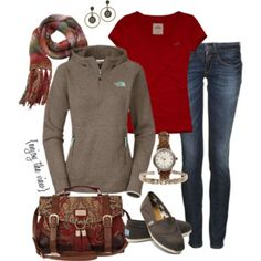 rust & brown casual