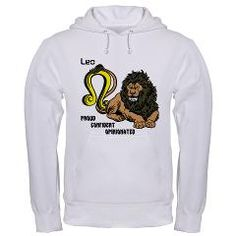 LEO Hooded Sweatshirt> LEO MEN'S T-SHIRTS & CLOTHING> Wanda's T-Shirts and Stuff $38.99