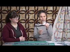 Quilting Tutorial: Double Wedding Ring Quilt *No Curved Piecing!* - YouTube