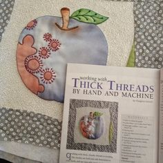 The April/May issue of Quilting Arts Magazine features the beautiful work of artist Margarita Korioth: Quilting/ Mixed Media Artist, Paper + Fabric using #Aurifil 12wt and 28wt. To read more please visit http://margascrafts.blogspot.com/2015/03/working-with-thick-threadsquilting-arts.html