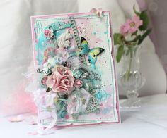 Scrap-Imaginarium: Акварельная с бабочкой
