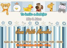 New invitation card for Birthday, Birth, Baby Shower, etc. Nuevo modelo de invitación apto para Cumpleaños, Nacimiento, Baby Shower, etc. Disponible en www.elsurdelcielo.com