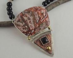 Leopardskin Jasper Necklace -