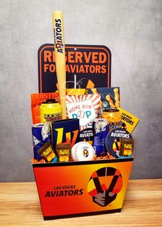 Reserved for Las Vegas Aviators MiLB Baseball Gift Basket This great gift is perfect for a Las Vegas Aviators Baseball fan who loves a good game along with some tasty snacks. Take Me Out To The Ball Game has NEVER been played better! Baseball Gift Basket, Baseball Gifts, Nut Cheese, Lego Girls, Mixed Nuts, Yummy Snacks, Best Games, Energy Drinks, Gift Baskets