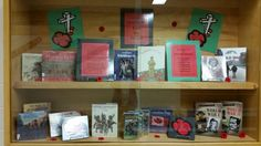 Remembrance Day - wanted to keep this simple Library Book Displays, Library Books, Remembrance Day, Flag, Simple, Anniversaries, Science, Flags