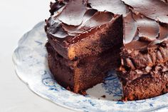 These are the most delicious chocolate cake recipes I have found through trying tons of different variations of chocolate cake. Pie Cake, No Bake Cake, Cake Cookies, Cupcake Cakes, Cupcakes, Baking Bad, Tasty Chocolate Cake, Köstliche Desserts, Sweet Cakes