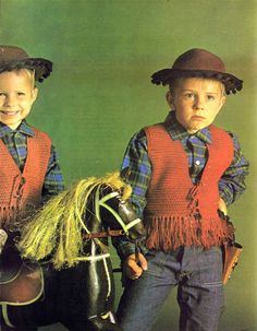 Hey, I found this really awesome Etsy listing at https://www.etsy.com/listing/206484992/vintage-crochet-pattern-boys-girls