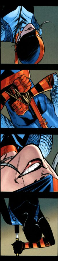 ROSE WILSON the best thing to happen to the DC universe.