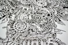 Steampunk Owl Artist:  Kerby Rosanes