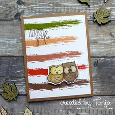 Cardmaking and Mixed Media Memories Box, Owl Card, Marianne Design, Altenew, Animal Cards, Simon Says, Fall Cards, Clear Stamps, Packaging