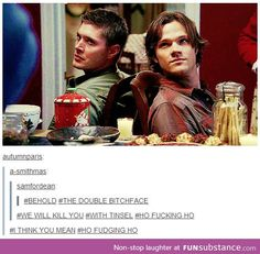In honor of the finale airing tonight, I shall post a few Supernatural posts.