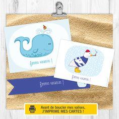 Imprimez vos cartes postales avant de partir en vacances !