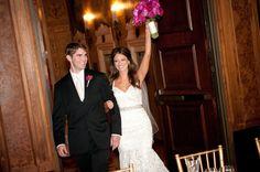 Photography: Orange2 - orange2photo.com Floral Design: Stems, inc. - stemschicago.com  Read More: http://www.stylemepretty.com/midwest-weddings/2013/05/01/intercontinental-chicago-wedding-from-orange2/