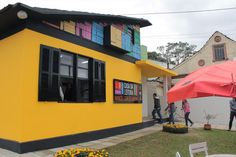 Casa da Leitura Manoel Carlos Karam – Rua Batista Ganz, 453 – Parque Barigüi. Foto: Alice Rodrigues/FCC