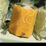 Lemonade.  Other juices with fresh sliced fruit for brunch?