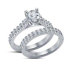 Sim Diamond Engagement Bridal Brass Ring. Starting at $1