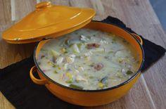 Chicken Pot Pie Soup (Gluten Free) (via marriahlavigne.com)